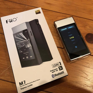 アイリバー(iriver)のFiiO M7(ポータブルプレーヤー)