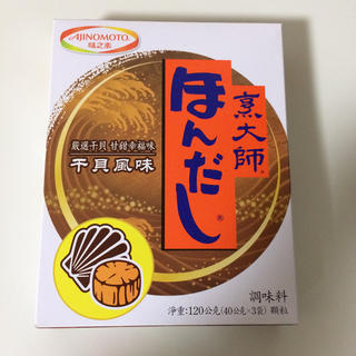 アジノモト(味の素)の台湾味の素 ホタテ風味のほんだし(調味料)