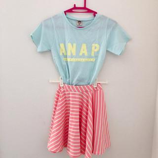 アナップキッズ(ANAP Kids)のANAP Tシャツ&スカート (Tシャツ/カットソー)