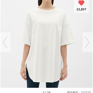 ジーユー(GU)の新品 ♡ GU ヘビーウェイト オーバーサイズT(Tシャツ(半袖/袖なし))