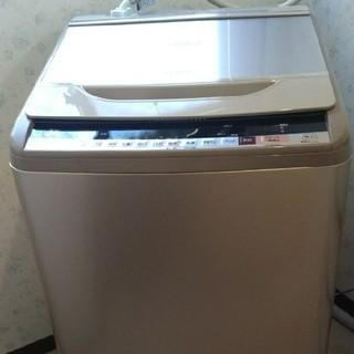 ヒタチ(日立)の値下げ 半年使用 美品 長期保証 日立 全自動洗濯機 ビートウォッシュ 10kg(洗濯機)
