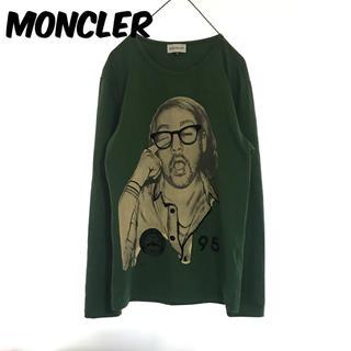 モンクレール(MONCLER)のモンクレール MONCLER 長袖 Tシャツ カットソー ヴィンテージ レア(Tシャツ(長袖/七分))