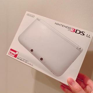 ニンテンドー3DS(ニンテンドー3DS)のニンテンドー 3DS LL パールホワイト(携帯用ゲーム本体)