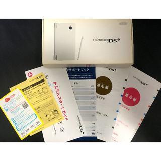 ニンテンドーDS(ニンテンドーDS)のNINTENDO DSi (ホワイト)中古美品 DSソフト(マリオカート)(携帯用ゲーム本体)