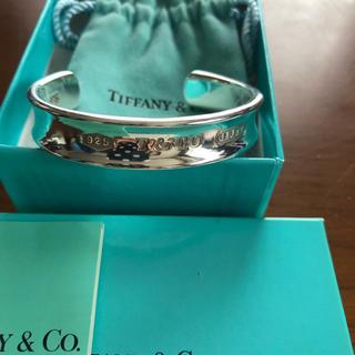 Tiffany & Co. - TIFFANY バングル  1837