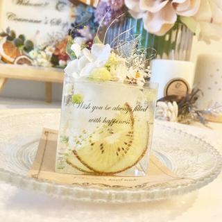 kiwi🥝 cake ※アロマワックス(アロマ/キャンドル)
