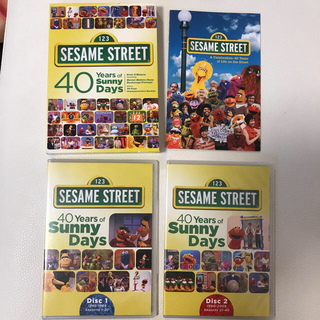 セサミストリート(SESAME STREET)のセサミストリート DVD2枚組 40Years of Sunny Days(キッズ/ファミリー)