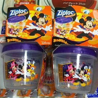 ディズニー(Disney)のディズニージプロックスクリューロックセット(容器)