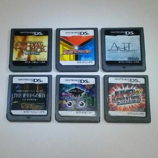 ニンテンドーDS(ニンテンドーDS)のニンテンドーDSソフト6セット(携帯用ゲームソフト)