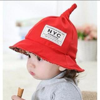 とんがり帽子 ベビー帽子