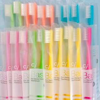 SALE‼️歯科医院専売歯ブラシ20本(歯ブラシ/デンタルフロス)