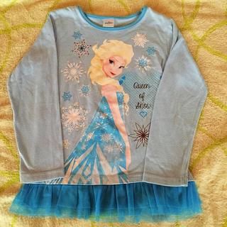 アナトユキノジョオウ(アナと雪の女王)のアナと雪 長袖シャツ(Tシャツ/カットソー)
