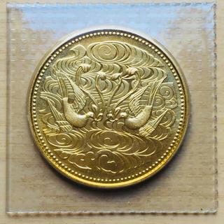 天皇在位六十年十万円記念金貨(貨幣)