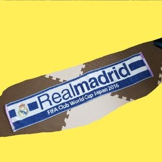 アディダス(adidas)のレアル・マドリード クラブワールドカップ2016 タオルマフラー(記念品/関連グッズ)