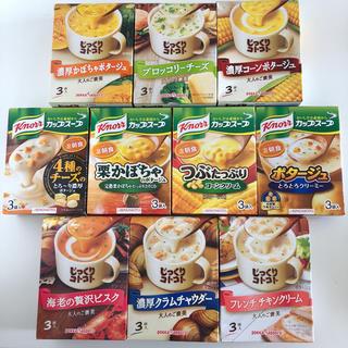 アジノモト(味の素)のクノール カップスープ & じっくりコトコト 10箱(インスタント食品)