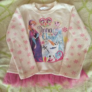 アナトユキノジョオウ(アナと雪の女王)のアナ雪 長袖シャツ(Tシャツ/カットソー)