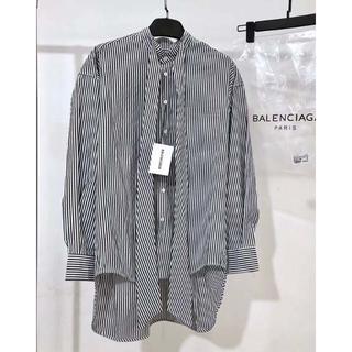 Balenciaga - Balenciaga メンズ バンドカラーシャツ 38