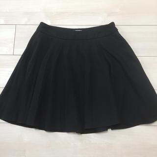 アリスアンドオリビア(Alice+Olivia)の美品 ミリー  黒 フレアスカート(ミニスカート)