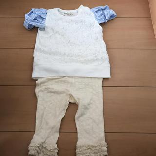 シマムラ(しまむら)のしまむら チュニック レギンス 新品 未使用(Tシャツ)