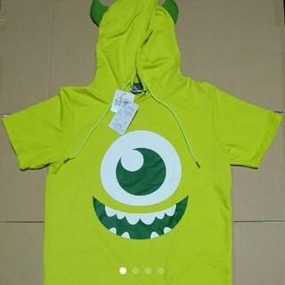 ディズニー(Disney)のモンスターズ・インク   マイク 半袖Tシャツ  メンズ サイズ M  (Tシャツ/カットソー(半袖/袖なし))