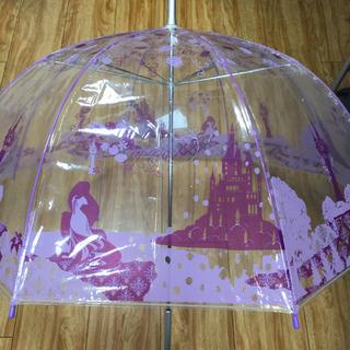 ディズニー(Disney)のディズニー ラプンツェル 大人用ビニール傘 新品未使用(傘)