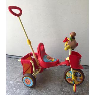 アンパンマン(アンパンマン)のアンパンマン 三輪車 美品(三輪車)