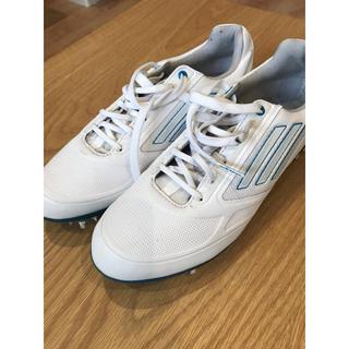 アディダス(adidas)のadidas ゴルフシューズ 23㎝(シューズ)