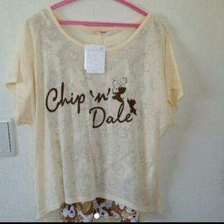 ディズニー(Disney)のチップ&デール 半袖Tシャツ LL(Tシャツ(半袖/袖なし))