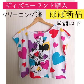 ディズニー(Disney)のディズニーリゾート限定品 ミニーマウス  Tシャツ🎀半額以下(Tシャツ(半袖/袖なし))