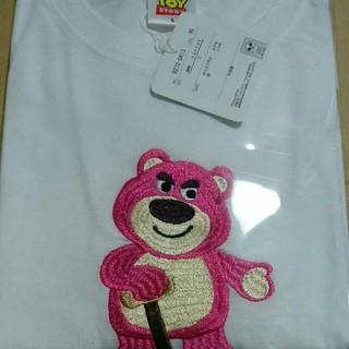 ディズニー(Disney)のロッツオ 半袖Tシャツ カラー ホワイト  サイズ L (Tシャツ/カットソー(半袖/袖なし))