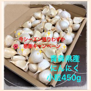 青森県産にんにく  バラ小粒450g(野菜)