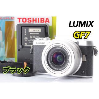 パナソニック(Panasonic)の❤️自撮り搭載でWi-Fi内蔵❤️大人気機種 LUMIX GF7❤️(ミラーレス一眼)