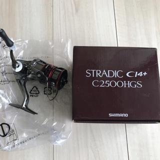 シマノ(SHIMANO)の☆未使用☆ シマノ  スピニングリール  STRADIC C2500HGS(リール)
