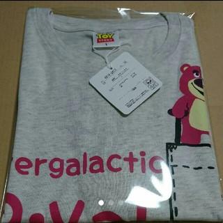 ディズニー(Disney)のロッツオ 半袖Tシャツ カラー 杢グレー サイズ L  (Tシャツ/カットソー(半袖/袖なし))