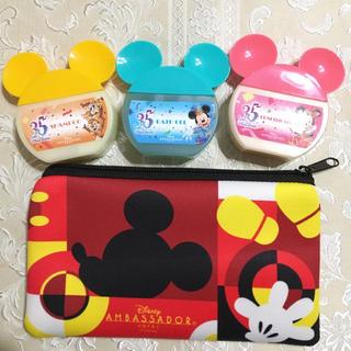 ディズニー(Disney)の非売品★追跡有★アンバサダーホテルミッキーマウスルーム限定★ポーチとアメニティ(キャラクターグッズ)