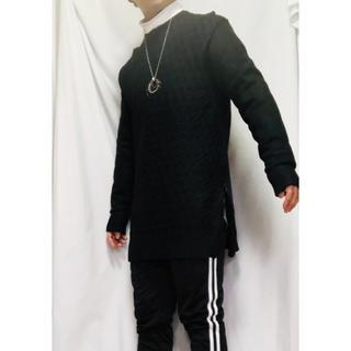 ZARA 春◎ ロングジップセーター ブラック