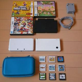 ニンテンドー3DS(ニンテンドー3DS)の3DSセット(携帯用ゲーム本体)
