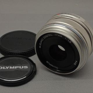 オリンパス(OLYMPUS)のオリンパス M.ZUIKO DIGITAL17mmF1.8SILVER(レンズ(単焦点))