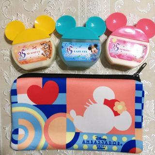 ディズニー(Disney)の非売品★追跡有★アンバサダーホテル★ミニーマウスルーム限定★ポーチとアメニティ(ポーチ)