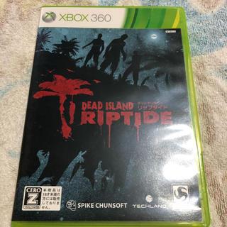 エックスボックス360(Xbox360)のデッドアイランド リップタイド XBOX360 中古(家庭用ゲームソフト)