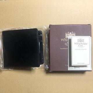 ホワイトハウスコックス(WHITEHOUSE COX)の新品未使用 Whitehouse Cox 二つ折り財布 s7532(折り財布)