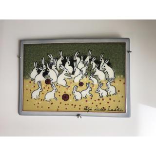アラビア(ARABIA)のアラビア ヘルヤ 陶板画 2002年 集合写真(置物)