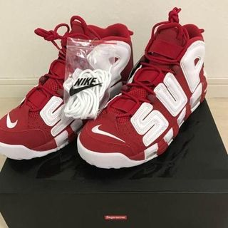 Supreme - NIKE AIR MORE UPTEMPO supremeコラボ シュプテン