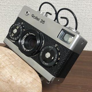 綺麗なコンパクト カメラ ローライ35(フィルムカメラ)