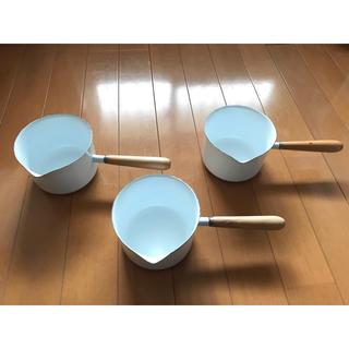 ホーローミルクパン (鍋/フライパン)