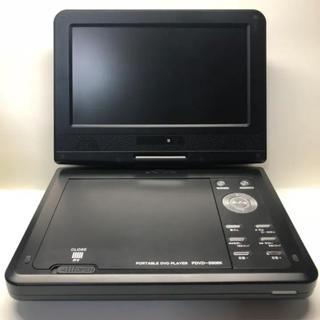 TMY ポータブルDVDプレーヤー PDVD-S906K ブラック(DVDプレーヤー)