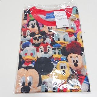 ディズニー(Disney)の【新品】総柄 ミッキー フレンズ Tシャツ(Tシャツ(半袖/袖なし))