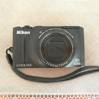 ニコン(Nikon)のNikon デジタルカメラ COOLPIX S8100 ブラック S8100BK(コンパクトデジタルカメラ)