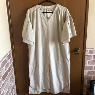 ショコラフィネローブ(chocol raffine robe)のショコラフィネローブ チュニック ベージュ 新品(チュニック)