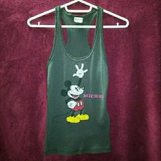 ディズニー(Disney)の☆Disney★ミッキーマウス☆ワイバックタンクトップ★(Tシャツ(半袖/袖なし))
